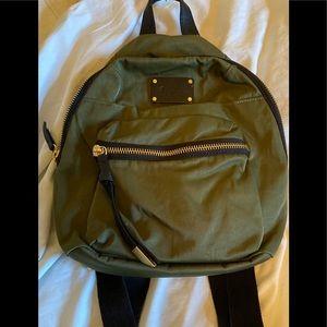 Foley and Corrina Olive Green Nylon Backpack